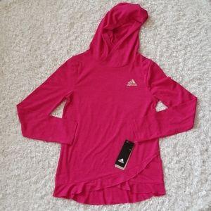NWT Girl's Adidas Hoodie Shirt